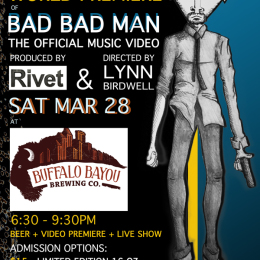 WORLD PREMIERE: BAD BAD MAN MUSIC VIDEO @ Buff Brew