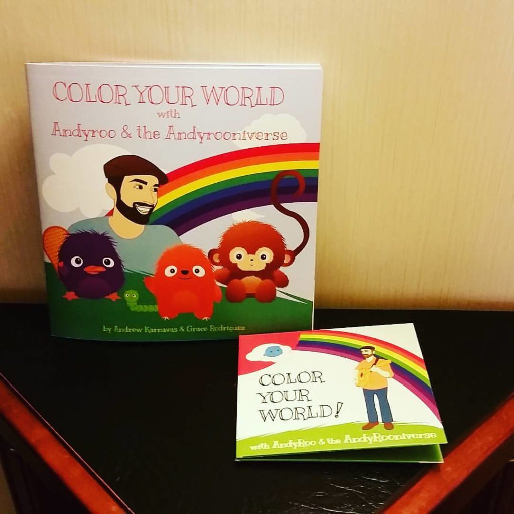 Color Your WOrld Book promo